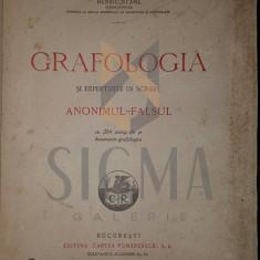 HENRIC STAHL - GRAFOLOGIA SI EXPERTIZELE IN SCRIERI, ANONIMUL SI FALSUL - Carte Drept comercial