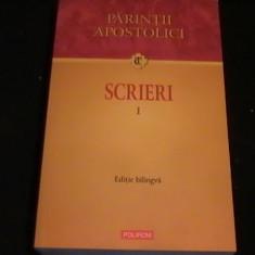 SCRIERI-PARINTII APOSTOLICI-VOL1-TRADITIA CRESTINA-571 PG- - Carti Istoria bisericii