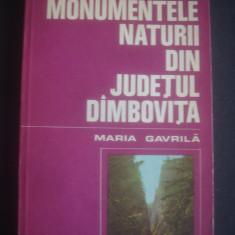 MARIA GAVRILA - MONUMENTELE NATURII DIN JUDETUL DAMBOVITA
