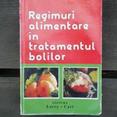 REGIMURI ALIMENTARE IN TRATAMENTUL BOLILOR - AUREL POPESCU BALCESTI - Carte Dietoterapie
