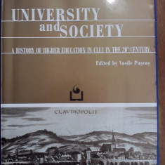 A history of higher education in Cluj - Vasile Puscas / C18P - Carte Monografie