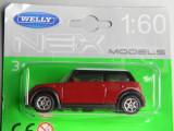 Macheta auto - WELLY DIE CAST - MINI COOPER, 1:60
