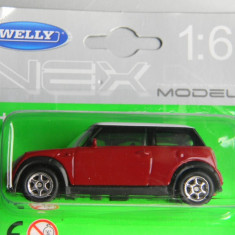 Macheta auto Alta - WELLY DIE CAST - MINI COOPER, 1:60
