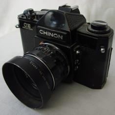 Aparat foto manual pe film marca CHINON cu obiectiv (1), SLR