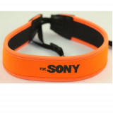 Camera Grip Neck Strap for sony orange portocaliu