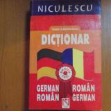 DICTIONAR GERMAN - ROMAN / ROMAN - GERMAN de IOAN LAZARESCU 2002 - Carte in alte limbi straine