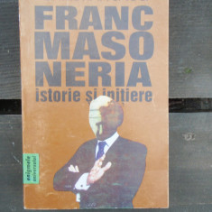 FRANCMASONERIA ISTORIE SI INITIERE - CHRISTIAN JACQ - Carte Hobby Masonerie