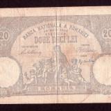ROMANIA - 20 lei - 18 Mai 1906 - Bancnota romaneasca