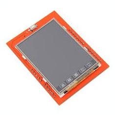 ecran display lcd tft shield pentru arduino 2.4'' cu touchscreen