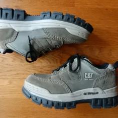 Ghete CAT Caterpillar Diesel Power piele naturala; marime 38, 5 UK - Ghete dama, Culoare: Din imagine