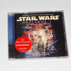 CD Audio Star Wars Episode 1 soundtrack - Muzica soundtrack Altele