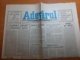 ziarul adevarul 25 august 1990