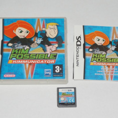 Joc consola Nintendo DS - Kim Possible Kimmunicator - Jocuri Nintendo DS Altele, Actiune, Toate varstele, Single player