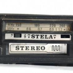 Radio - Casetofon auto Stela - producator Electro - Mures incomplet, neprobat