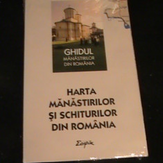 HARTA MANASTIRILOR SI SCHITURILOR DIN ROMANIA-LA TIPLA-