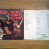 QUEEN - SHEER HEART ATTACK (1974, EMI, Made in UK) vinil vinyl - Muzica Rock