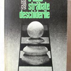 """""""O IDEE STRABATE DESCHIDERILE"""", Volodea Vaisman, 1983. Sah. Carte noua, Alta editura"""