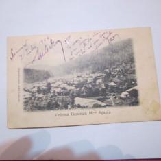 Cp anul 1906 agapia manastirea scrisa - Carte Postala Moldova 1904-1918, Stare: Circulata, Tip: Printata