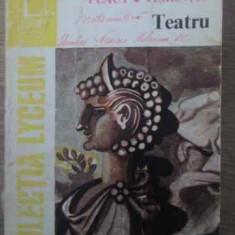 Teatru - Plaut Terentiu, 386843 - Carte Teatru
