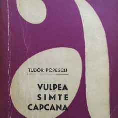 VULPEA SIMTE CAPCANA - Tudor Popescu - Carte politiste