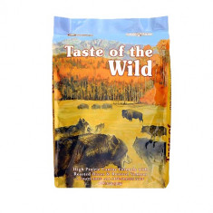 Taste of the Wild High Prairie 13 kg + 2 conserve Equilibria Dog Cal 410 gr - Hrana caini
