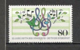 Germania.1987 125 ani Asociatiile muzicale  SG.569, Nestampilat