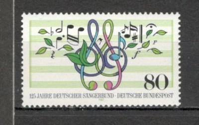 Germania.1987 125 ani Asociatiile muzicale  SG.569 foto