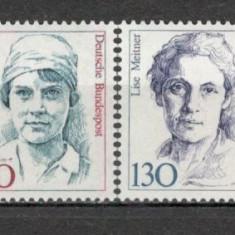 Germania.1988 Personalitati feminine  SG.600