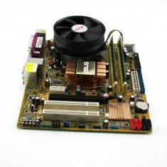 Kit ASUS P5KPL-CM + Intel Core 2 Quad Q9300 + 4GB + cooler+transport gratuit !!! - Placa de Baza Asus, Pentru INTEL, LGA775, DDR2, Contine procesor, MicroATX