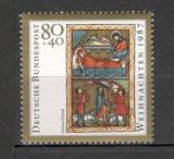 Germania.1987 Nasterea Domnului-Miniatura  SG.587, Nestampilat