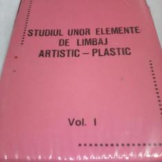 DIAPOZITIVE STUDIUL UNOR ELEMENTE DE LIMBAJ ARTISTIC-PLASTIC 10 FILE 120 BUC