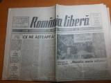 "ziarul romania libera 11-12 mai 1991-art. "" monarhia uneste natiunea """
