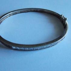 Bratara de argint cu zirconii -717 - Bratara argint