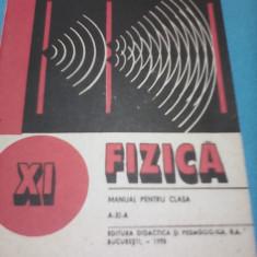 FIZICA GEORGE ENESCU/NICOLAE GHERBANOVSCHI MANUAL CLASA XI 1995 - Manual scolar Altele, Clasa 11