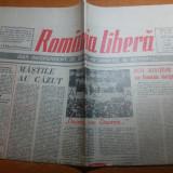 Ziarul romania libera 21 mai 1991-20 mii participanti la miting in p. revolutiei