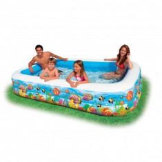 Piscina gonflabila Intex Family Tropical 58485 - Barca pneumatice