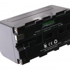 Acumulator Premium Sony NP-F750, NP-F970, NP-F550, compatibil marca Patona, - Baterie Camera Video