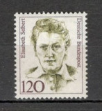 Germania.1987 Personalitati feminine  SG.582, Nestampilat
