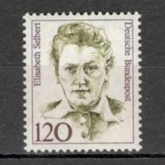 Germania.1987 Personalitati feminine SG.582 - Timbre straine, Nestampilat