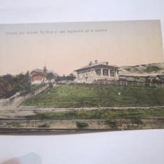 Cp salinele targu ocna anul 1914 circulata spre buzeu - Carte Postala Moldova 1904-1918, Tip: Printata