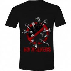 The Walking Dead - No Walkers T-shirt - Black, Size XL