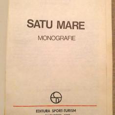 Judetele patriei - Satu Mare, Monografie, Ed. Sport -Turism 1980 - Carte Epoca de aur