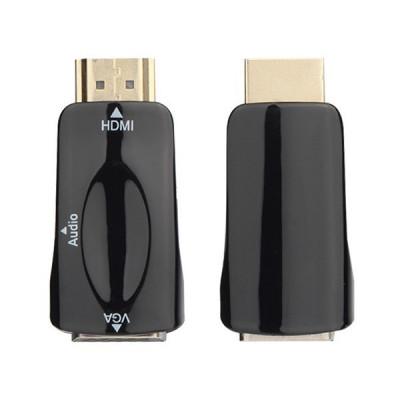 Adaptor HDMI-VGA, conectare PS3, XBOX360, PS4, Xbox one, cu monitor, proiector! foto