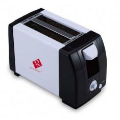 Toaster paine Renberg RB9001 tava detasabila - Prajitor de paine, 2 felii, 750 W