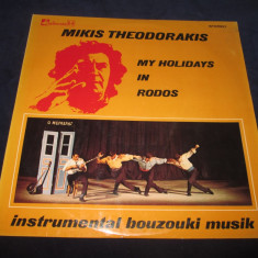 Mikis Theodorakis – My Holidays In Rodos _ vinyl(LP) Grecia - Muzica Populara Altele, VINIL