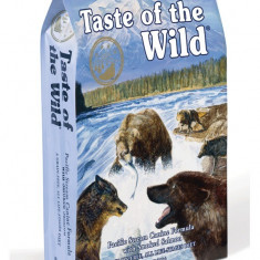 Pachet Taste of The Wild Pacific Stream Adult 13 kg +1 L Ulei somon salbatic Nutrivet - Hrana caini