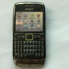 NOKIA E71 - Telefon mobil Nokia E71, Negru