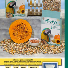 Fiory Papagali Mari 700 gr - Mancare pasari