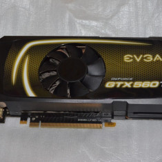 Placa video EVGA GeForce GTX 560 Ti 1GB DDR5 256-bit - poze reale - Placa video PC Evga, PCI Express, nVidia