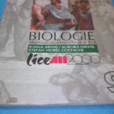 BIOLOGIE MANUAL CLASA 9 IOANA ARINIS/AURORA MIHAIL - Manual scolar all, All
